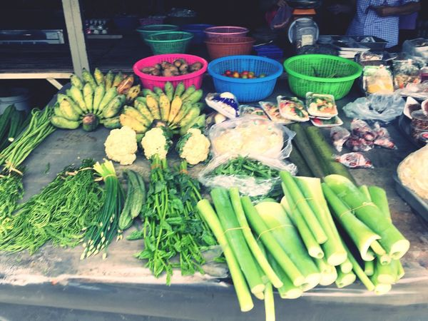 Food And Drink Freshness Healthy Eating Wellbeing Vegetable Food High Angle View For Sale Market Table Retail  Business