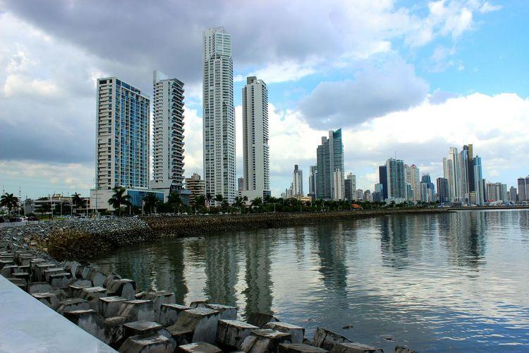 Panamá Seaview Cinta Costera Sea And Sky Edificios Metropolitan Panama Papers Metropolis