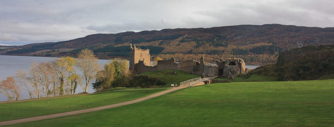 Lago Ness Mountain Travel Destinations Escocia Loch Ness Loch Ness Castle