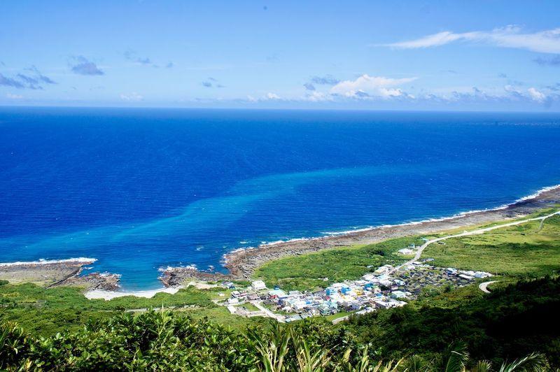 俯瞰蘭嶼 Water Sea