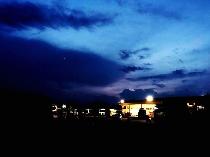 Night sky. 2nd