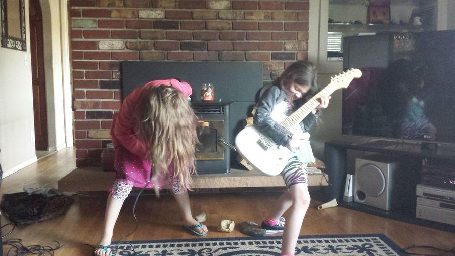 Girl Power Rock N Roll ROCK ON! Rock'n'Roll Rockstars