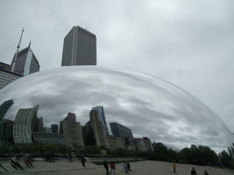 Chicago City Bean AT&T Park