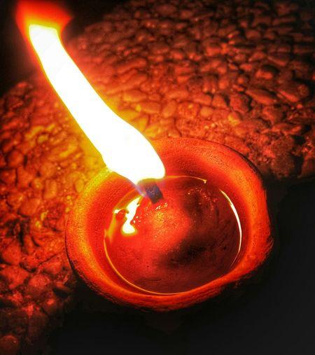 A Flame ignited. Diwali Diwali2015 Shining ShiningBRIGHT Gleaming Light Photographers_of_india Bright Oil Lamp Oillamp