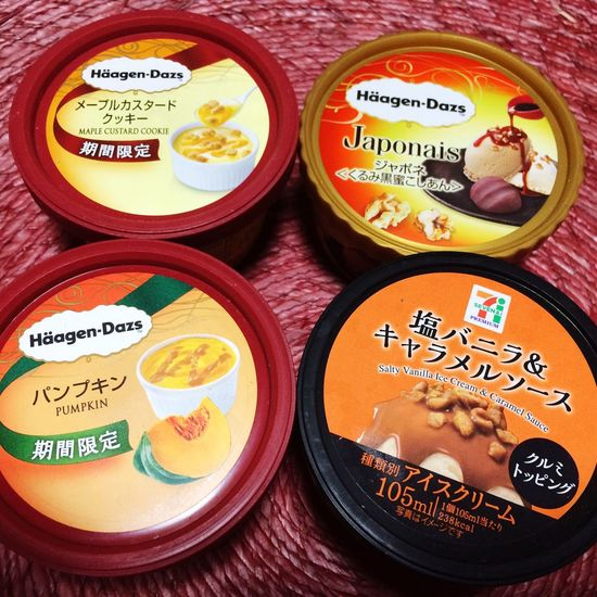 Ice Cream Sweet Food Choice Ready-to-eat ハーゲンダッツ