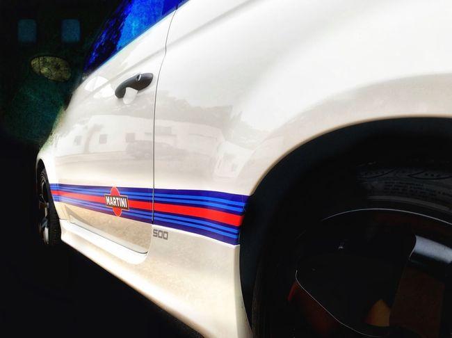 Martini Racing Abarthgram AbarthOnly Fiategeahatchback Fiat 500 Fiat 500 Abarth Fiat NEM Submissions Transportation Mode Of Transport Car Land Vehicle No People Stationary Day Tire