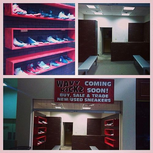 ATTN VA FAM: Im happy to announce WavyKickz new store in Southparkmall in Petersburg /colonial heights officially opens today. If your from that area or not far make sure you follow that page@wavykickzsp BuySellTrade South Park Also check out the Richmond Location at 804 W. BROAD ST. RVA DOWNTOWN VCU AREA and follow @wavykickz ... AND IF UR NOT IN VA CHECK THE SITE http://wavykickz.bigcartel.com