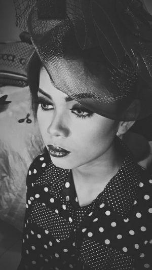 Make up by Chacha Damara LoveBW Bw Blackandwhite
