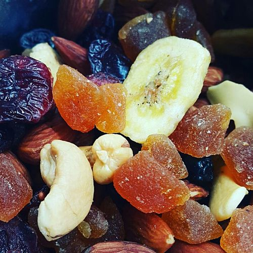 Trail Mix Nuts Banana Chips Dried Fruits Snack