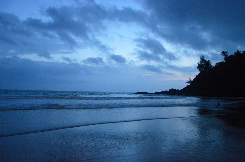Landscape Nature Scenics Tranquil Scene Beach Cloud - Sky Goa Beachphotography Goatourism Goa ❤❤