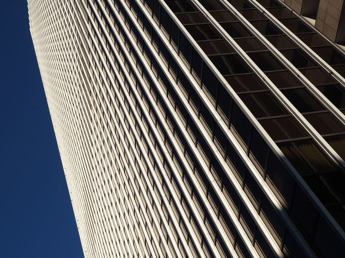 Architecture Building Exterior Built Structure Close-up Day Frankfurt Low Angle View Modern Modern Architecture No People Outdoors Pattern Sky