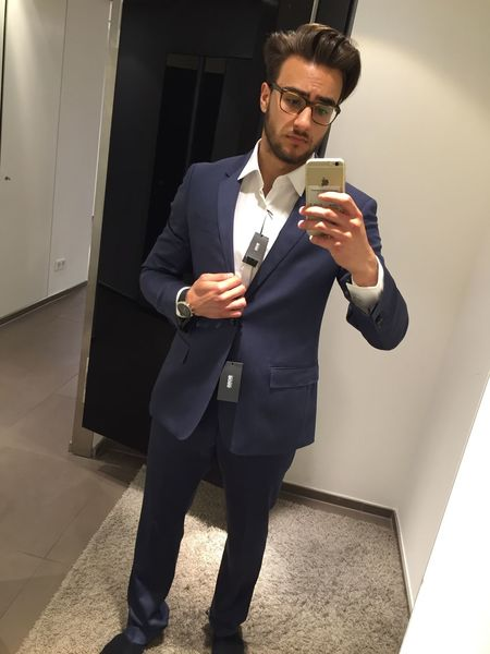 Shoppen gewesen 😏❤️ Hugoboss It's Business Time That's Me Check This Out Today's Hot Look Fashion Model
