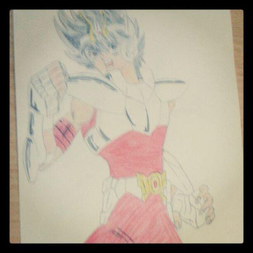 Consegui o seiya *--* Seiya Desenho Me Zica