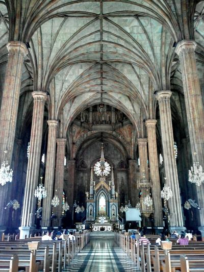 San Sebastian Church, Philippines -the first oldest steel church in asia Tatak Noypi Architecture Photography