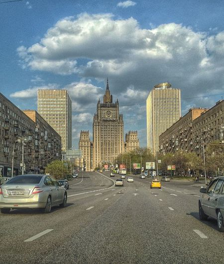 Moscow City Cityscapes Arhitecture Landscape HDR Streetphotography IPhoneography Russia