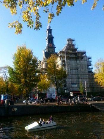 Amsterdam Wester Kerk 1november 2014, summer all over again. I Love Amsterdam Wester Kerk Fotofantast Church