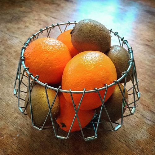Basket Close-up Day Focus On Foreground Fruit Basket Kiwi MoMath Nature No People Orange Orange Color Sky Still Life