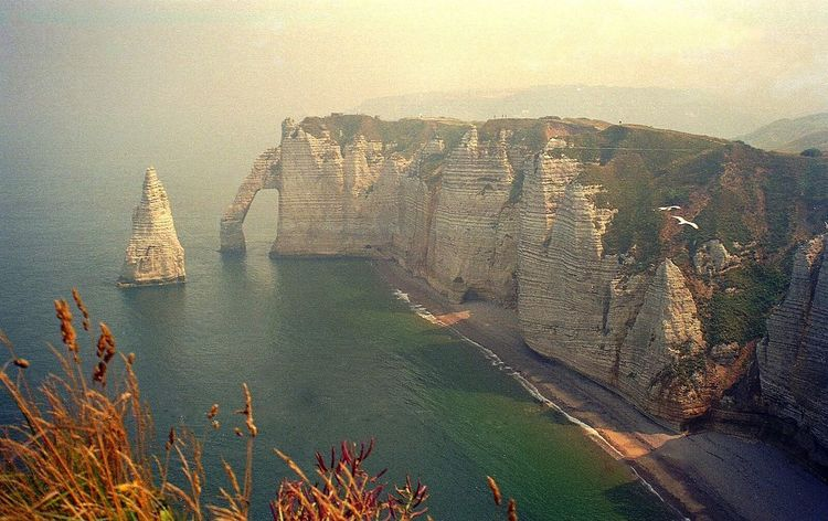 Normandie France Nature Scenics Beauty In Nature Tranquility Outdoors Landscape Sea No People Travel Destinations Sunset Day Sky