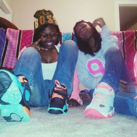 . me nd my sister got these hoes mad, when we ain't even around ^_^