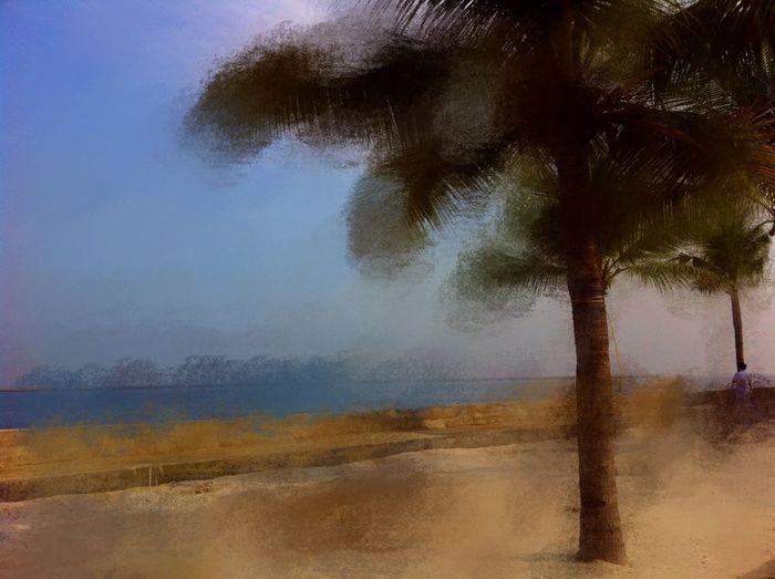 Pemandangan NEM Painterly