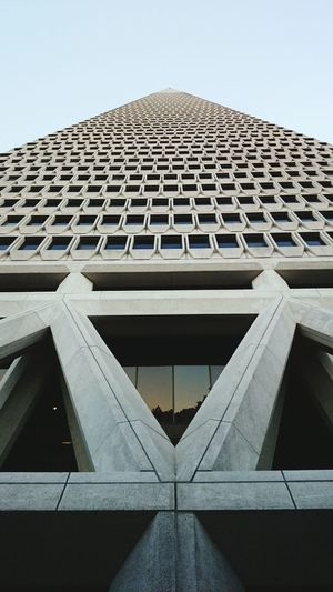 Vanishing Point Transamerica Pyramid Building San Francisco Perspective Discovery Travel Geometric Abstraction Geometric Shapes TheMinimals (less Edit Juxt Photography) The Architect - 2016 EyeEm Awards