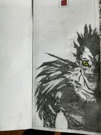 Ryuk Disegala Disegno Deat Note ❤