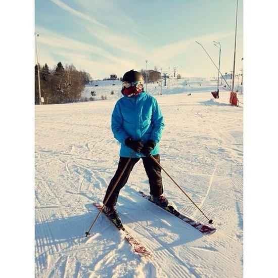 трудовые будни в Степаново Горнолыжка ski