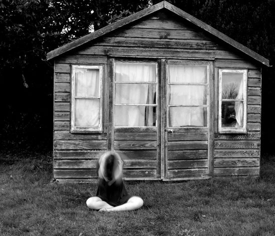 This is one of my favourites from my series called trapped. White Girl Blackandwhite Narratives Narrative Black Fine Art Photography Self Portrait