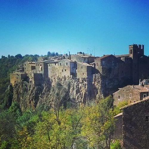 Calcata Calcatavecchia Borgo Nature Landscape Sunnyday Saturday