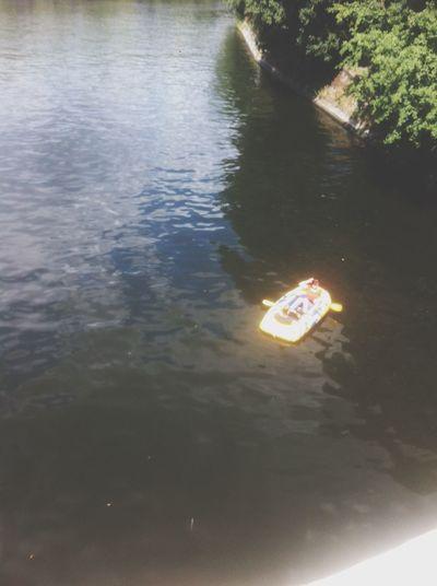 Rubber Boat Chillin