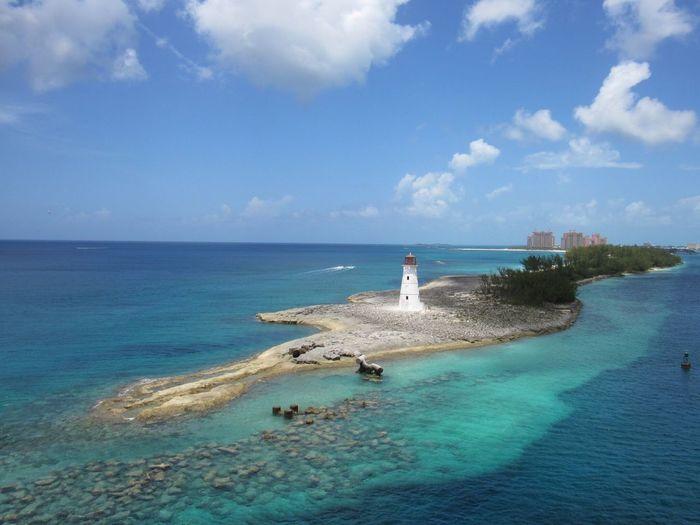 Bahamas Bahamamama Lighthouse Nassau Atlantis, Bahamas.  Blue Turquoise Water Ocean Check This Out Enjoying Life