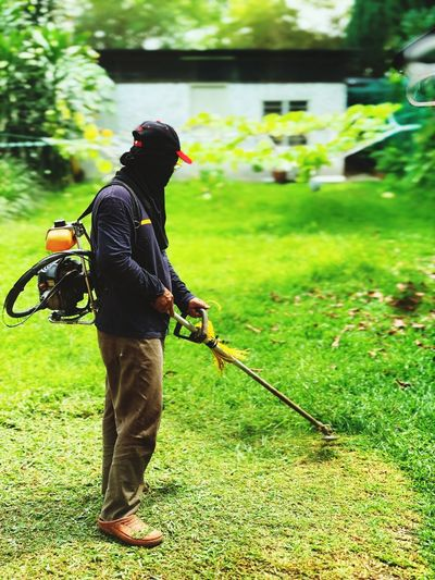 Knowing trees, I understand the meaning of patience. Knowing grass, I can appreciate persistence. ~ Hal Borland Hard Earned Living Sweat Blade Of Grass Persistence  Patience Hardwork Grass Cutter Grass Plant Full Length Green Color Holding Nature
