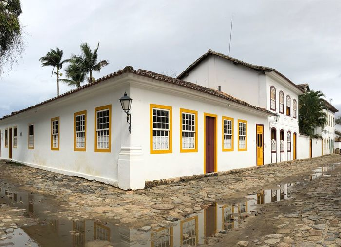 Old Architecture Paraty, Brazil Old Built Structure Architecture Building Exterior Sky Building Nature Day Tree Cloud - Sky Plant No People Outdoors Beach City Land House Window Sunlight