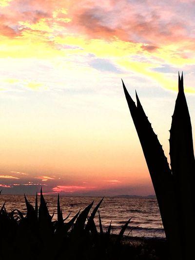 Sunset last evening Korfu First Eyeem Photo