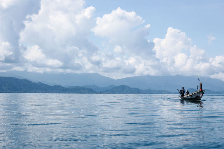 Buffalo Local Natural Peace Quiet Moments Ranong, Thailand Thailand Beach Beachphotography Beauty In Nature Blue Sky And Sea Cloud - Sky Day Good Vibes Landscape Nature Peaceful Ranong Scenics - Nature Sky Tranquility Travel Thailand Water ทะเลระนอง ระนอง