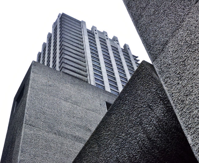 Barbican Estate Abstract Architecture Concrete Construction Constructivism Geometry London LONDON❤ Urban Urban Geometry Urban Photography
