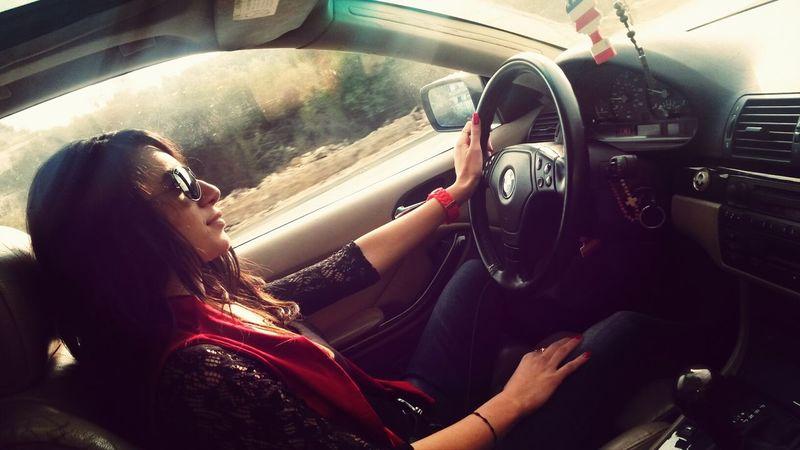 Hi! That's Me Driving Bmw!! ♡