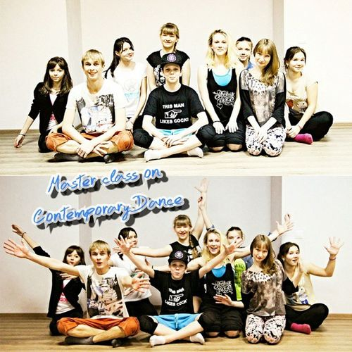 Master_class on Contemporary Dance 21/02/15 Photogrid