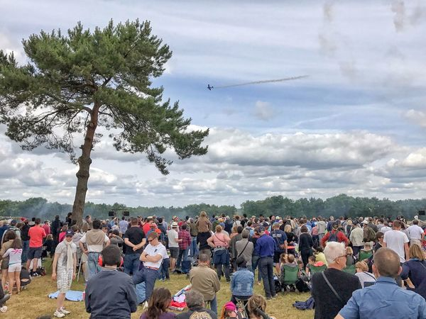 The Crowd 😀 La Ferté Alais Airshow Aérodrome De Cerny France Picoftheday Photooftheday Photodujour Moment People Large Group Of People Sky Clouds Cloudscape Iphonephotography EyeEmBestPics EyeEm IPhoneography EyeEm Best Shots IPhoneography Mobilephotography Outofthephone Iphoneonly Lifestyles Planes Fan - Enthusiast