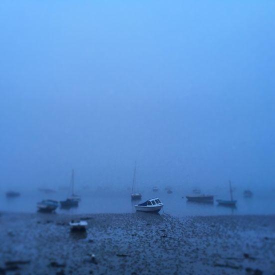 Sea mist rolling in again... Sandbanks Poole Poole, Dorset Poole Dorset Beach Sandbanks Beach Poole Harbour Evening Water Boats Boats⛵️ Mist Sea Sea Mist Boat Fog Foggy Blue Eerie Eerie Beautiful Landscape Seascape Unreal Surreal