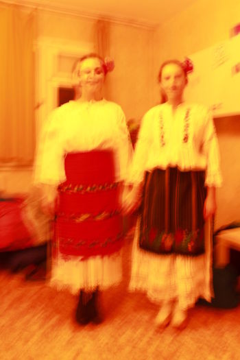 Bulgarian Folklore Performance Tradiotional Cloths Traditions & Rituals Young Women