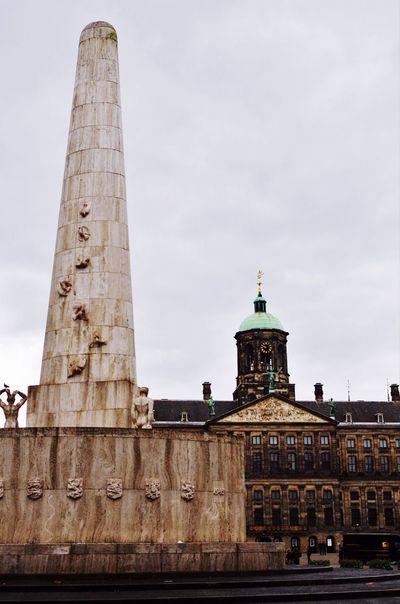 Your Amsterdam Showcase April Buildings Architecture Adventure • Piazza Dam •