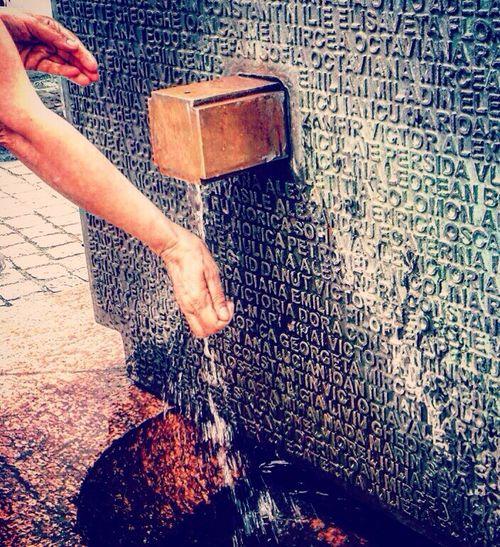 Urban Fountain Social Conciousness