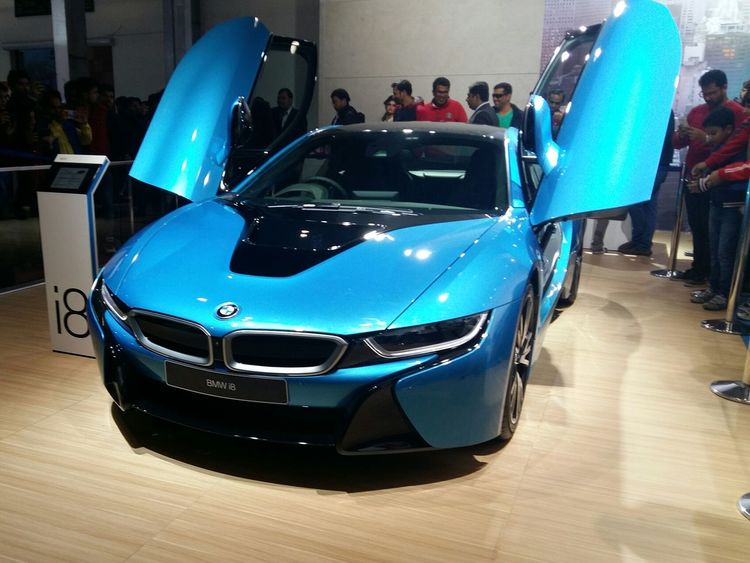 Showcase: February Bmwi8 Bmw Future Of Luxury Photography CarShow Autoexpo2016