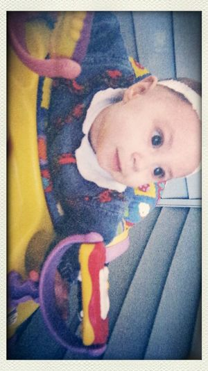 another Hardcopy of MyBabyGirl  Mybaby mybabywhen she was 4 months old. rocking my The90s attire.