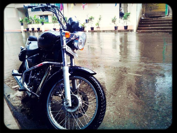 Rain block...couldnt go anywhere!! First Eyeem Photo