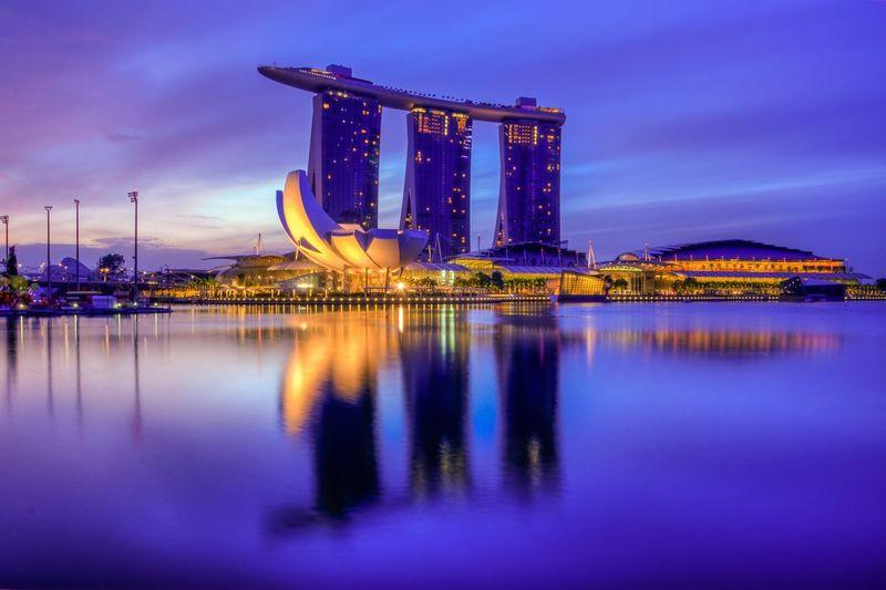 Cityscapes Landmark Singapore Urban Landscape Marinabaysands Landscape_photography