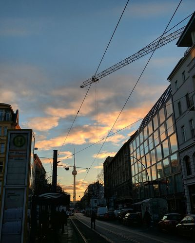 Berlin morning.