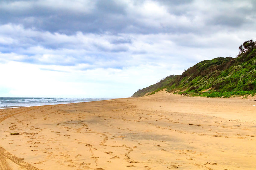 Kwa-Zulu Natal Africa Beach Beauty In Nature Cloud - Sky Day Horizon Over Water KwaZulu-Natal Coast Nature No People Outdoors Sand Scenics Sea Shore Sky Tranquil Scene Tranquility Water