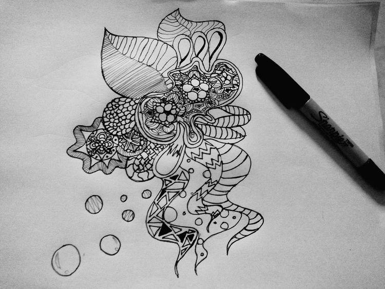 Doodle Art Doodle Art Sharpie Art